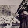 Boy selling koulouria. Postal card (early 20cent., Heraklion (Crete)