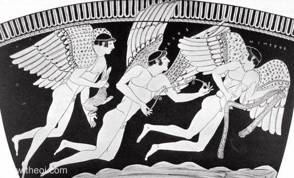 Ancient Greek Words for Love: Eros, Himeros, Pothos, Philia